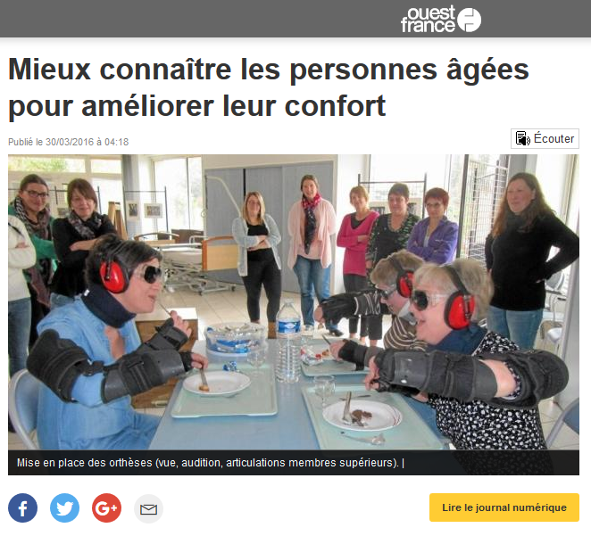 Article Ouest-France 30 mars 2016